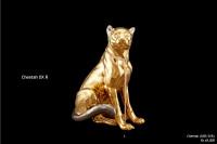Ceramic Sculpture Cheetah