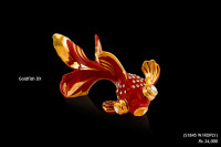 Ceramic Figurines Goldfish