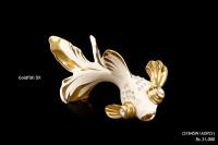 Ceramic Sculpture Goldfish