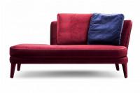 Lacoon Fabric Love Seat