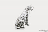 Ceramic Sculpture Maxi Leopard