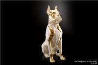 Ceramic Statues Maxi Sitting Boxer