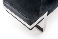 Rhombus Fabric Bench