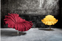 Bloom Velvet Armchair