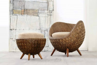 La Luna Modern Arm Chair