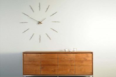 Merlin Steel Wall Clock