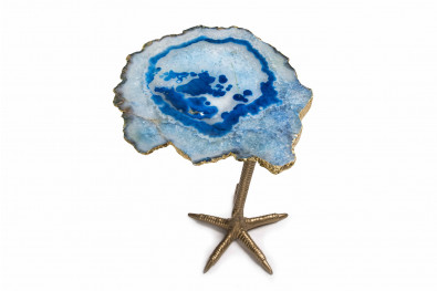 Ostrich Leg Agate Side Table