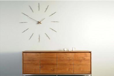 Merlin Steel Wall Clock