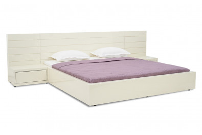 Bianca Luxury White Bed