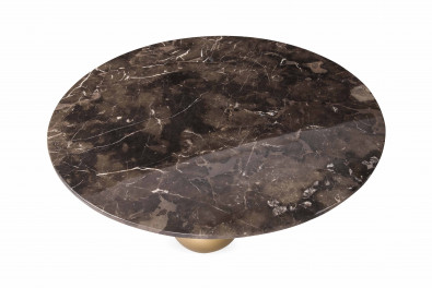 Kemp Marble Designer Center Table