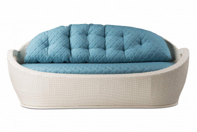 Tulip Rattan Outdoor Sofa