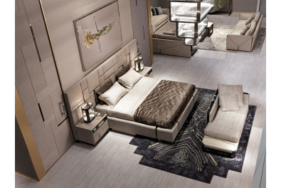 Keith Luxurious Bed
