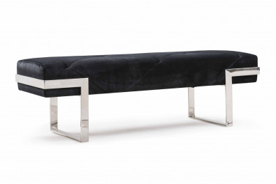 Rhombus Fabric Bench