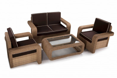 Deck 2 Seater Outdoor Sofa