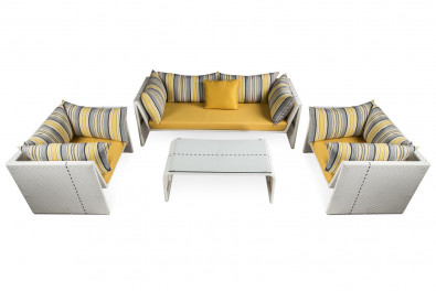 Slimline Outdoor Sofa Set
