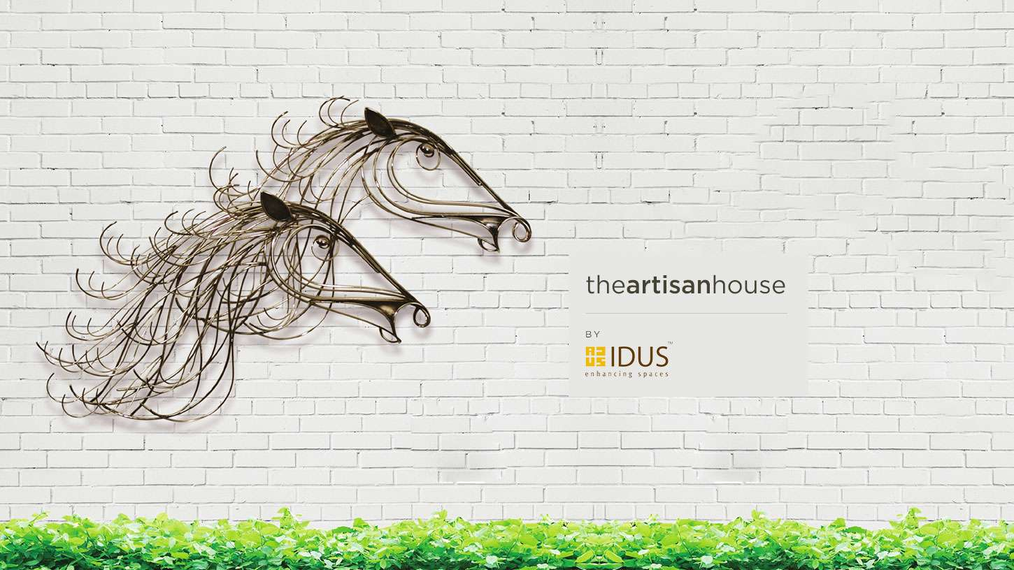 Designer Horse Wall Art - The Artisan House -IDUS Furniture Store