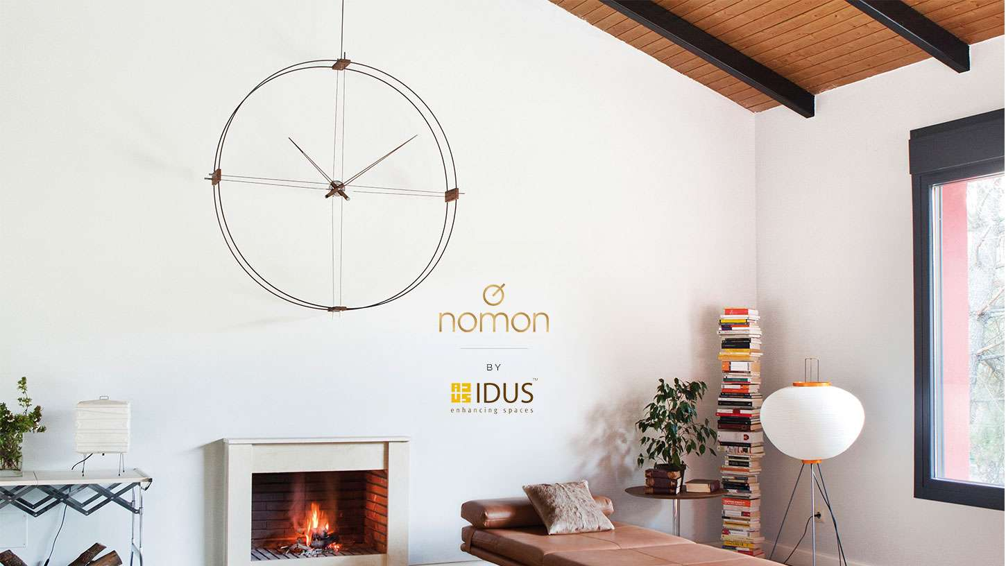 Designer Large Size Handmade Wall Clocks for Living Room by IDUS Furniture Store.