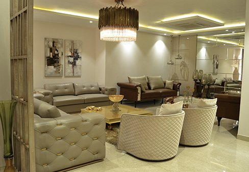 Luxury Living Room Furnitures